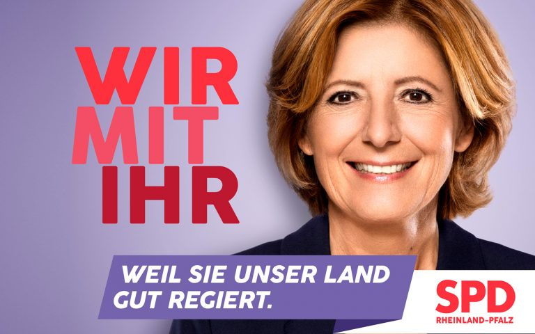 SPD Campaign Malu Dreyer